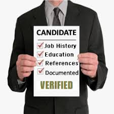 pre-employment screening - Integrity check